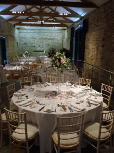 Wedding Reception Hendall Manor Barns
