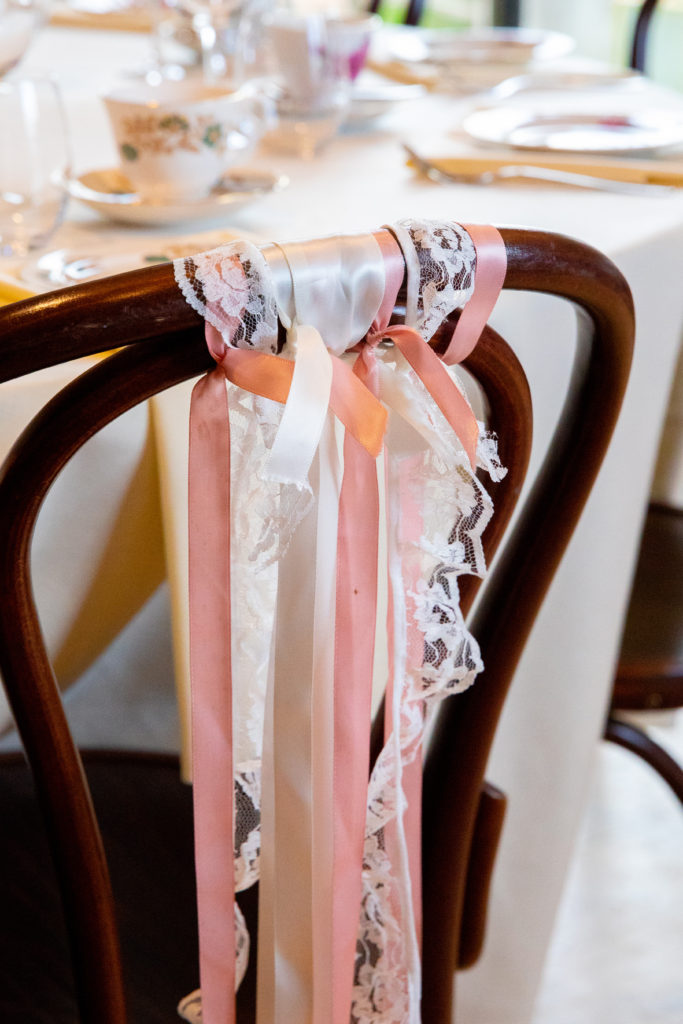 Ribbons on Chairs - Not Your Average I Do
