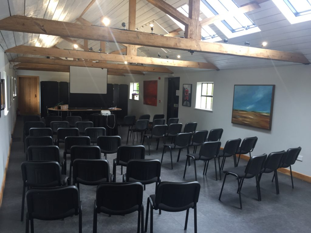 Theatre Style Set Up at Hendall Manor Barns