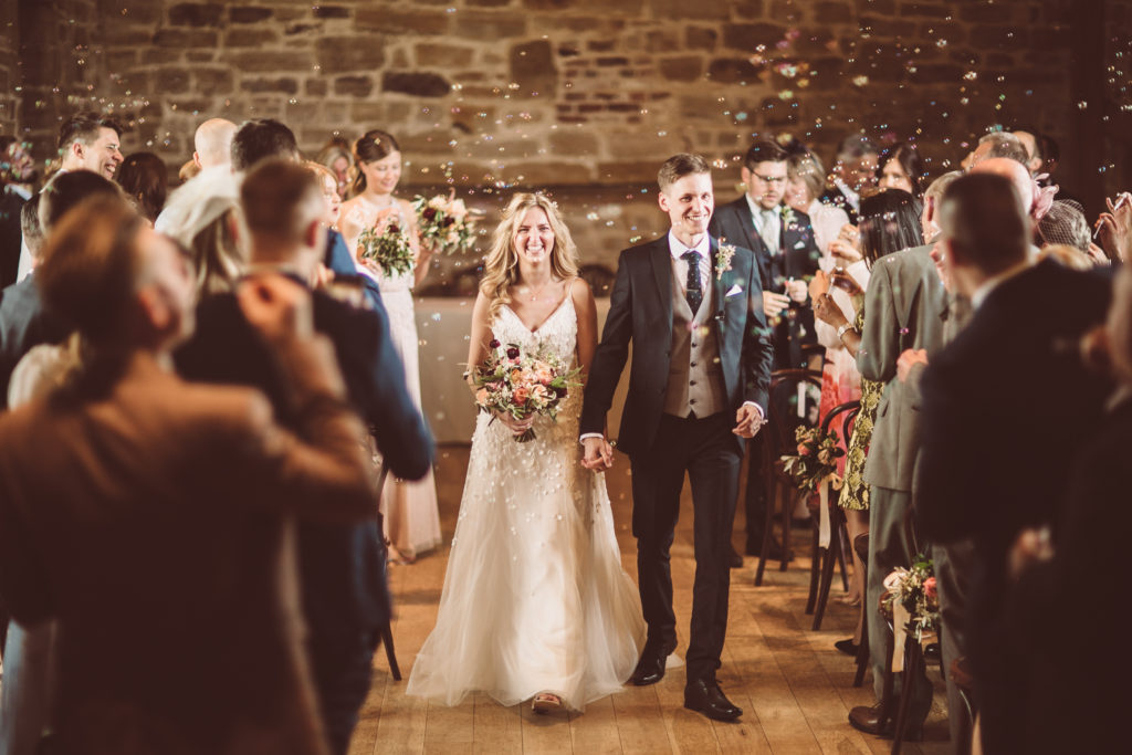 Wedding Couple at Hendall, East Sussex Venue