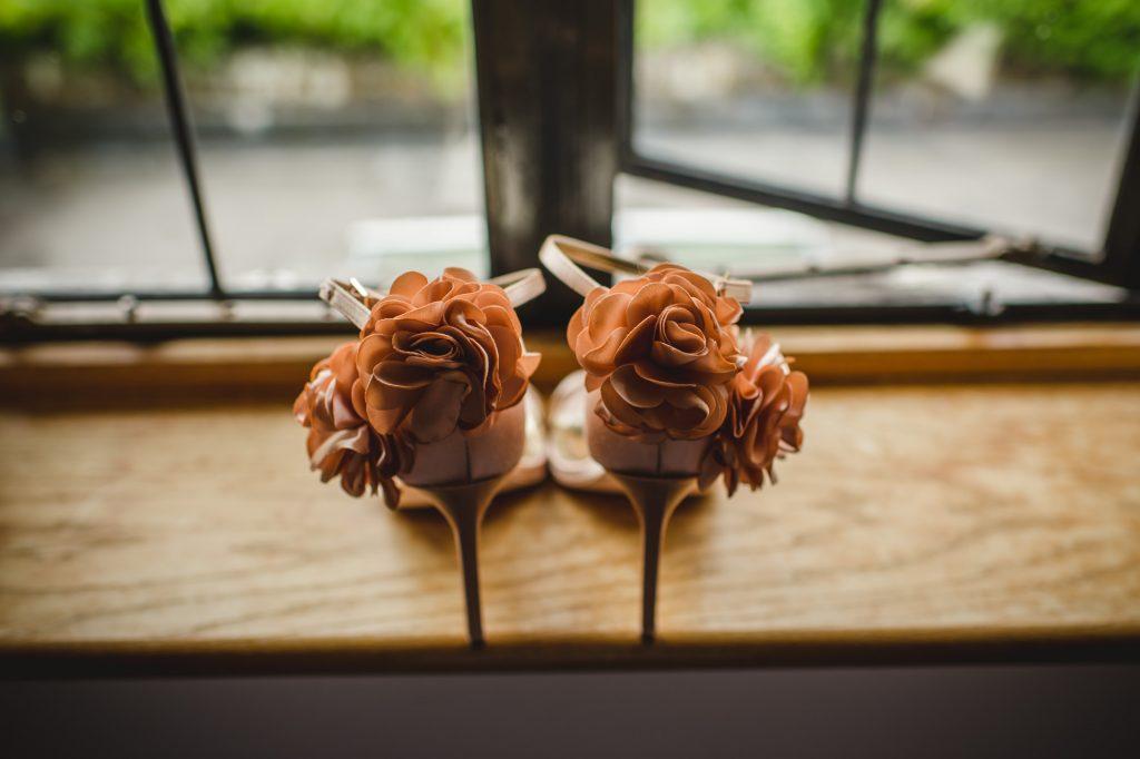 Fancy wedding shoes - Sussex