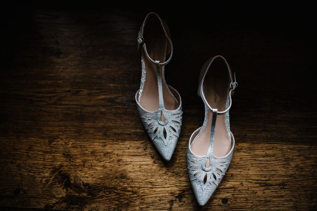 Strappy wedding shoes - Hendall Barns
